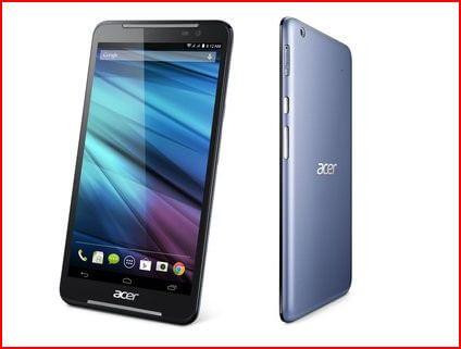 Acer Iconia Talk S : Nouvelle phablette 7 pouce 4G pour janvier 2015