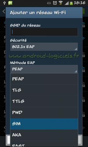 (EAP-SIM) FreeWiFi Secure