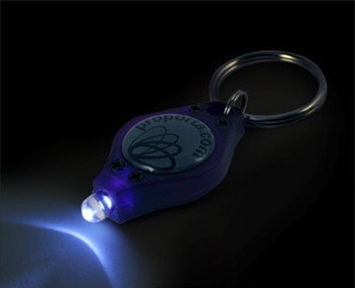 Lampe de sécurité et stylo à encre UV invisible
