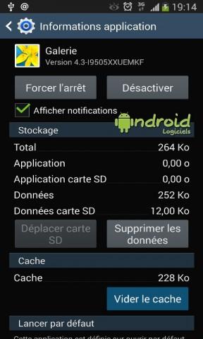 Supprimer les dossiers Picasa dans la galerie Android