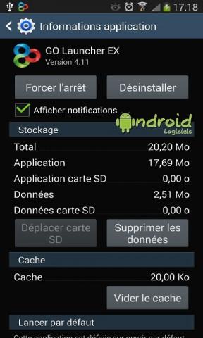 Supprimer une application par défaut sur Android