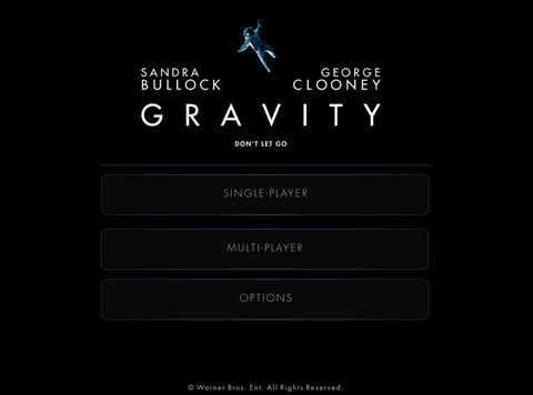 Gravity : Don't let go