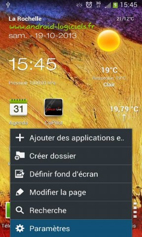 Installer une application manuellement