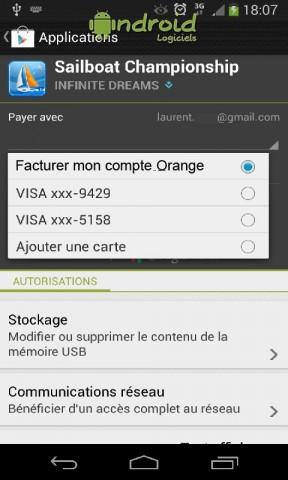 Les différentes méthodes de paiement des applications Android