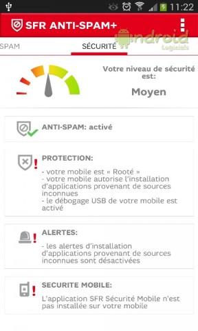 Protection contre le spam et les appels indésirables