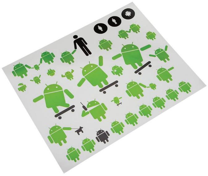 Une planche de Stickers Android à gagner sur Android-Logiciels.fr