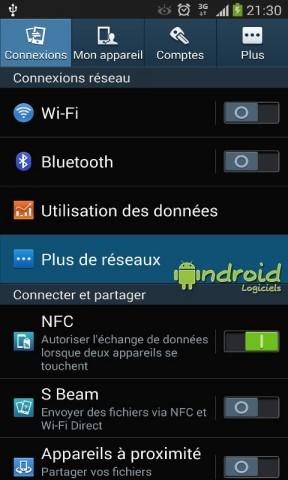Utiliser votre appareil Android en tant que modem