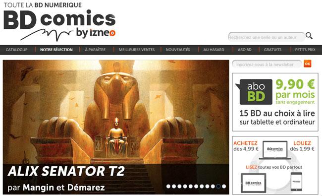 De Astérix à Walking Dead, tout l'alphabet BD est sur BD Comics by izneo