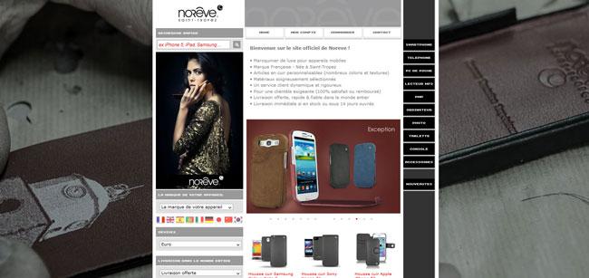 Noreve Saint-Tropez, nouveaux étuis pour Sony Xperia et Samsung Galaxy tab