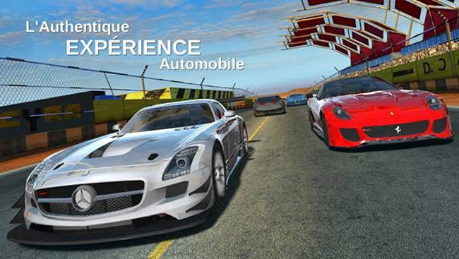 Le jeu GT Racing 2 : The Real Car Experience est disponible sur Android