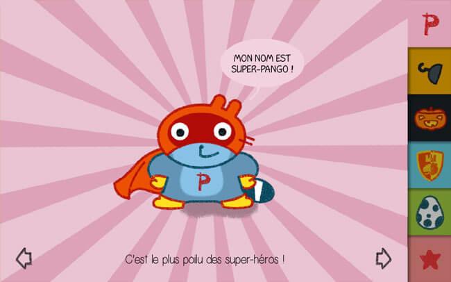 Un nouveau jeu Studio Pango pour les tout-petits : PANGO se déguise
