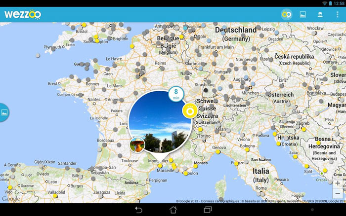 Wezzoo se lance sur Android
