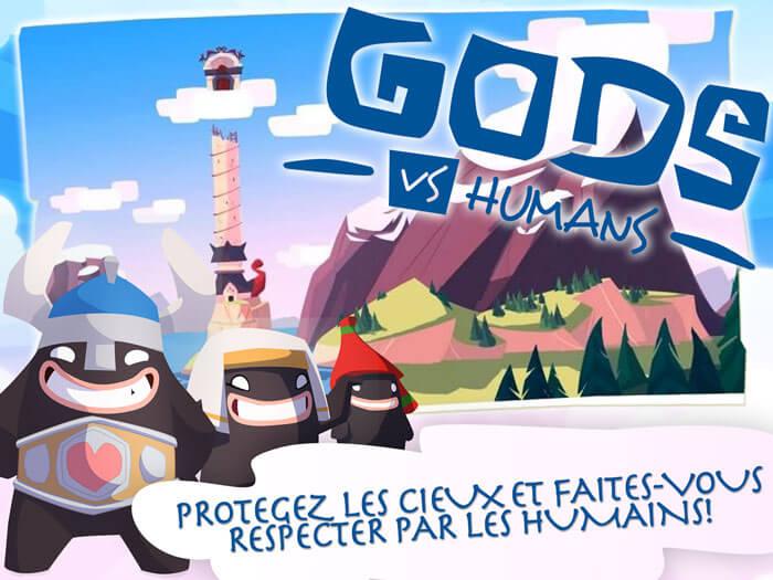 Protégez le royaume des cieux dans le jeu «God Vs Humans»