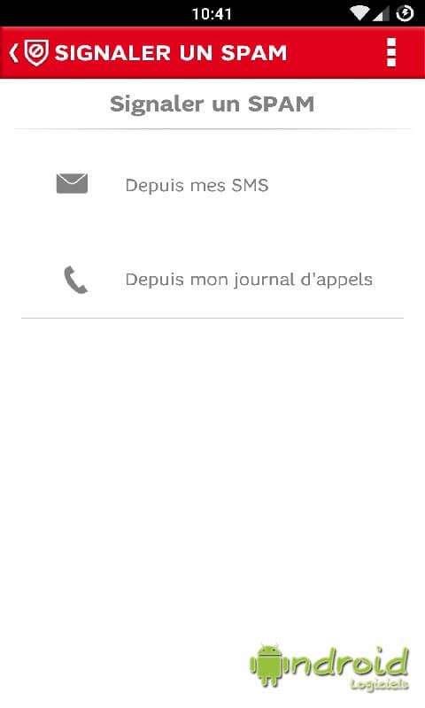 SFR Anti-spam+ (SMS et Appels)