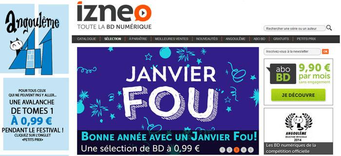 Pour Angoulême, une avalanche de tomes 1 à 0,99 € sur izneo