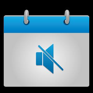 Calendar Mute peut mettre votre téléphone en mode silencieux ou vibreur pendant les évènements de certains de vos agendas, et restaurer le volume une fois ceux-ci terminés.