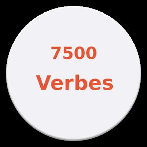Ce conjugueur regroupe environ 7500 verbes.
