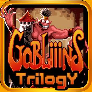 Gobliiins Trilogy est une compilation de trois titres incluant Gobliiins, Gobliins 2 et Goblins 3.