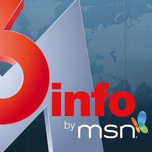 Application gratuite d'information française et internationale alimentée par une rédaction de journalistes M6 et MSN.