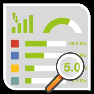 Contrôlez l'utilisation de vos données mobiles et suivez votre consommation internet de près grâce à la jauge de notification ainsi qu'aux widgets fournis.