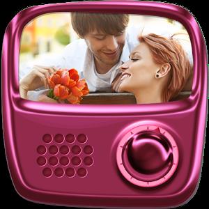 L'application radio chansons d'amour romantique peut être écoutée sans casque, où que vous vous trouviez.