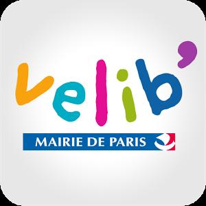 L'application officielle et gratuite Vélib' de la Mairie de Paris vous permet d'accéder directement à la carte du quartier dans lequel vous vous trouvez.