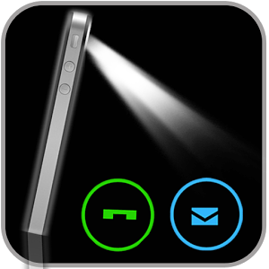 Votre appareil mobile et en mode silencieux ? Cette application activera le flash de la caméra pour vous avertir d'un appel et/ou SMS entrant.