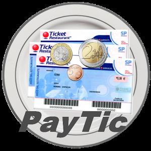 Paytic est une application permettant de calculer rapidement le nombre de tickets nécessaires à un paiement.