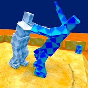 Le comique jeu PC, Sumotori Dreams, arrive sur mobile. Le but du jeu, pousser l'adversaire hors du cercle, ou faites-le tomber par terre.