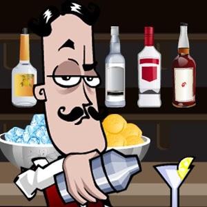 Faites un choix parmi 20 boissons. Versez, agitez et servez ensuite votre cocktail à Miguel, le barman afin de savoir ce qu'il en pense.