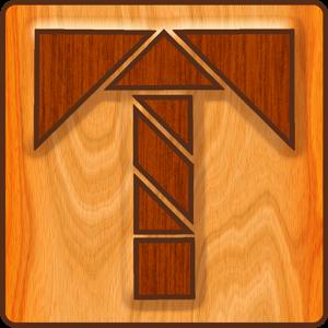 Tangram est un jeu de puzzle simple et addictif qui consiste à remettre en place diverses formes éparpillés pour en créer une nouvelle pré-définie.
