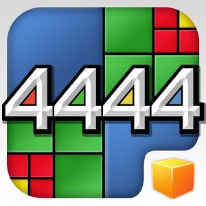 4444 est un puzzle game à la mécanique de jeu originale, vous devrez tenter de combiner quatre carrés de même couleur et de même taille pour former un carré plus grand.