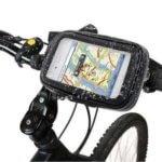 Etui housse étanche Cricel avec fixation vélo-moto pour Samsung Galaxy S4 – N'achetez pas !