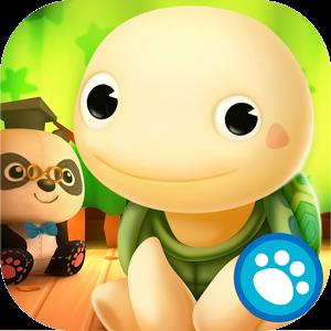 Toto est une petite tortue qui vient tout juste de naître et qui aimerait acceptant de jouer avec elle et d'en prendre soin. Les enfants pourront l'aider à préparer les repas, prendre son bain, faire de la balançoire ensemble, et même faire des bulles géantes.