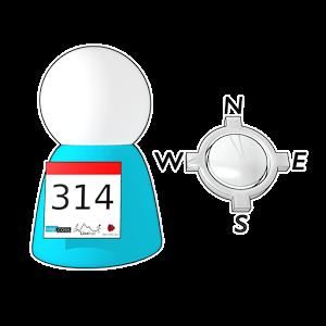 L Event Locate Me est une application développée par LiveTrail® et Dokever®. Elle vous permettra, en cas de besoin, de transmettre votre localisation directement à l'organisation de la course.