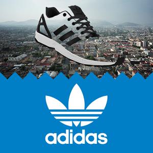 Cette application vous permettra d'utiliser votre propre image pour personnaliser la basket ZX FLUX adidas Originals. Vous pourrez créer en toute simplicité votre paire de sneakers qui représentera votre style, puis vous la faire livrer directement chez vous.
