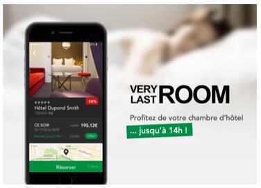 VeryLastRoom devient la 1ère application de réservation d'hôtel à offrir des grasses matinées jusqu'à 14h00.