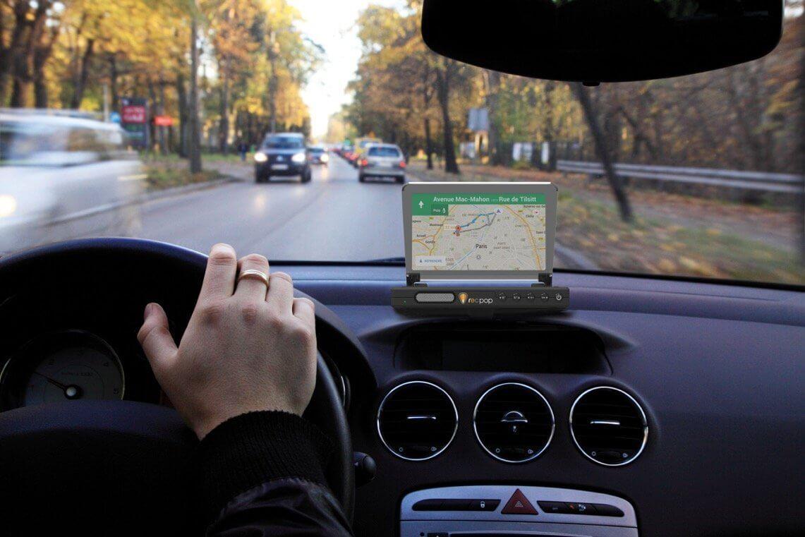 roadeyes recpop un affichage t te haute dans votre voiture android. Black Bedroom Furniture Sets. Home Design Ideas