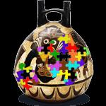 Puzzle Ceramic