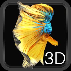 Betta (poisson Combattant) 3D