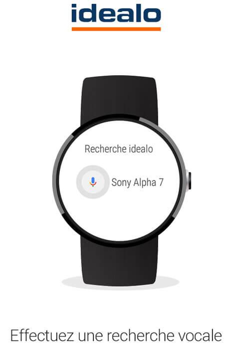 idealo pour Android Wear – Comparez les prix directement depuis votre poignet