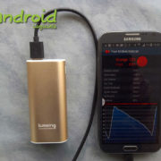 Test de la Batterie portable Grand A1 mini de Lumsing