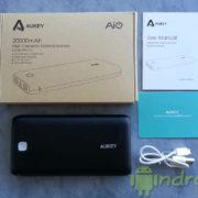 Test de la puissante batterie externe 20 000 mAh Aukey PB-N15 avec 2 ports USB