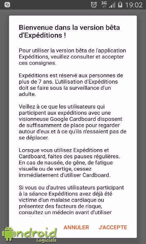 Google Expéditions