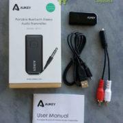Test du Transmetteur audio stéréo Bluetooth Aukey BT-C1