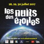 Les nuits des étoiles - Édition 2017