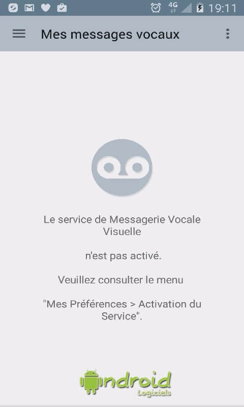Messagerie vocale visuelle orange android for Messerie fr