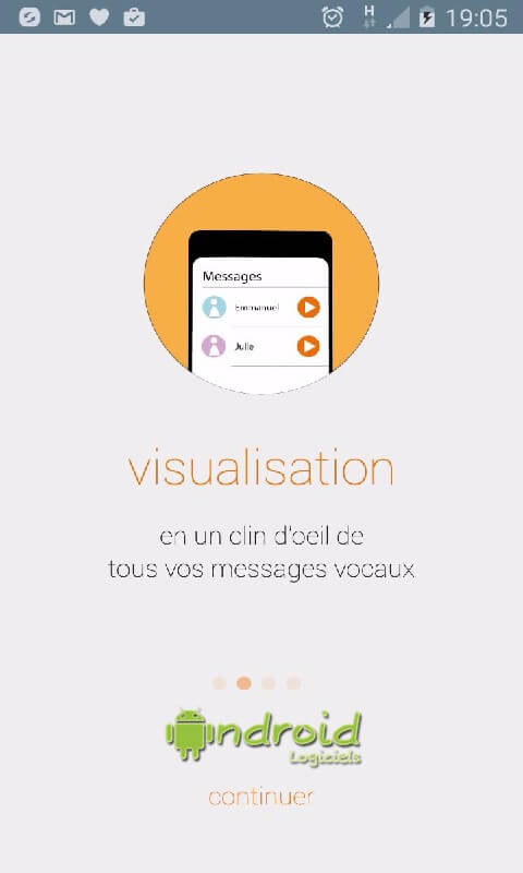 Messagerie vocale visuelle Orangerange3