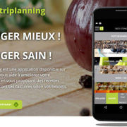 Lancement de l'application de nutrition NutriPlanning