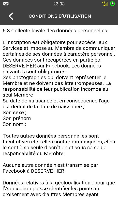 Application rencontres sur facebook